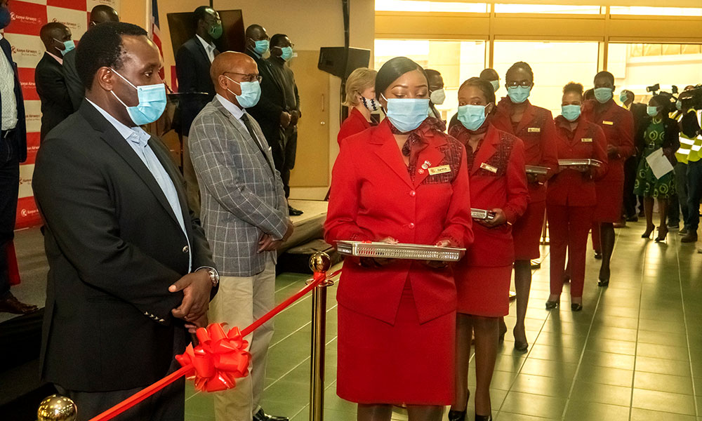 Kenya Airways Resumes International Passenger Flights With A Colourful Event