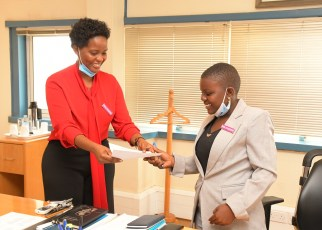 In commemoration of the International Day of the Girl Child, 14-year-old Esther Nakamanya was given control of Uganda's leading financial institution, Stanbic Bank as acting Chief Executive for the day.