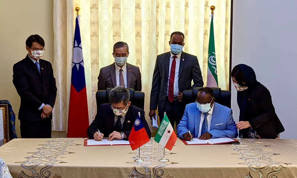 Taiwan Signs Agreement to Improve Healthcare, Agriculture and ICT in Somaliland