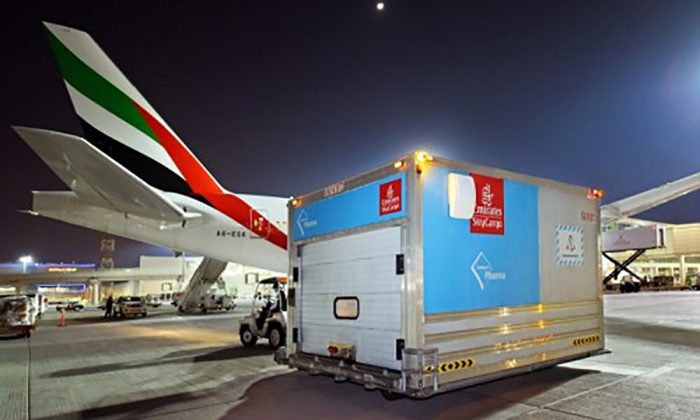 First Air Cargo Carrier to Deliver 50Million Doses of Vaccine