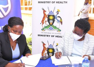 Stanbic Bank's, MoH to Support Health Workers