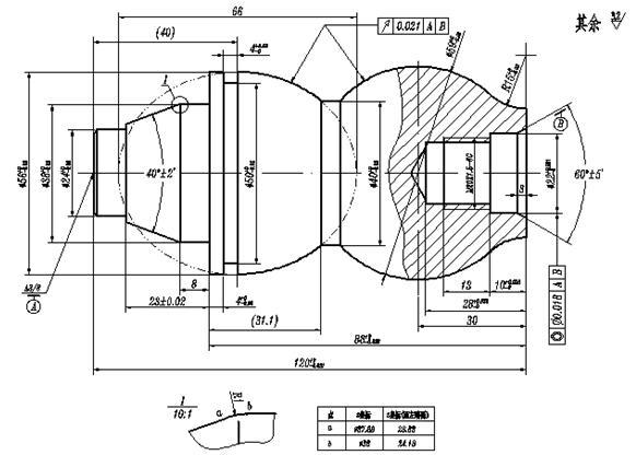 非圆二次曲线的车削加工节点计算方法和编程实例分析