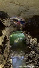 Il Tunnel a monte, Ramo Giacobbi (foto Sandro Sedran S-Team)