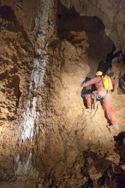 Ramo Fossile di Sinistra, Saletta Bianca (foto Sandro Sedran team, archivio GSM)