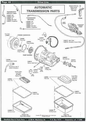School Bus Driveline Parts
