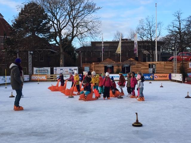 Giovanni en Sem drijvende krachten schoolschaatsen