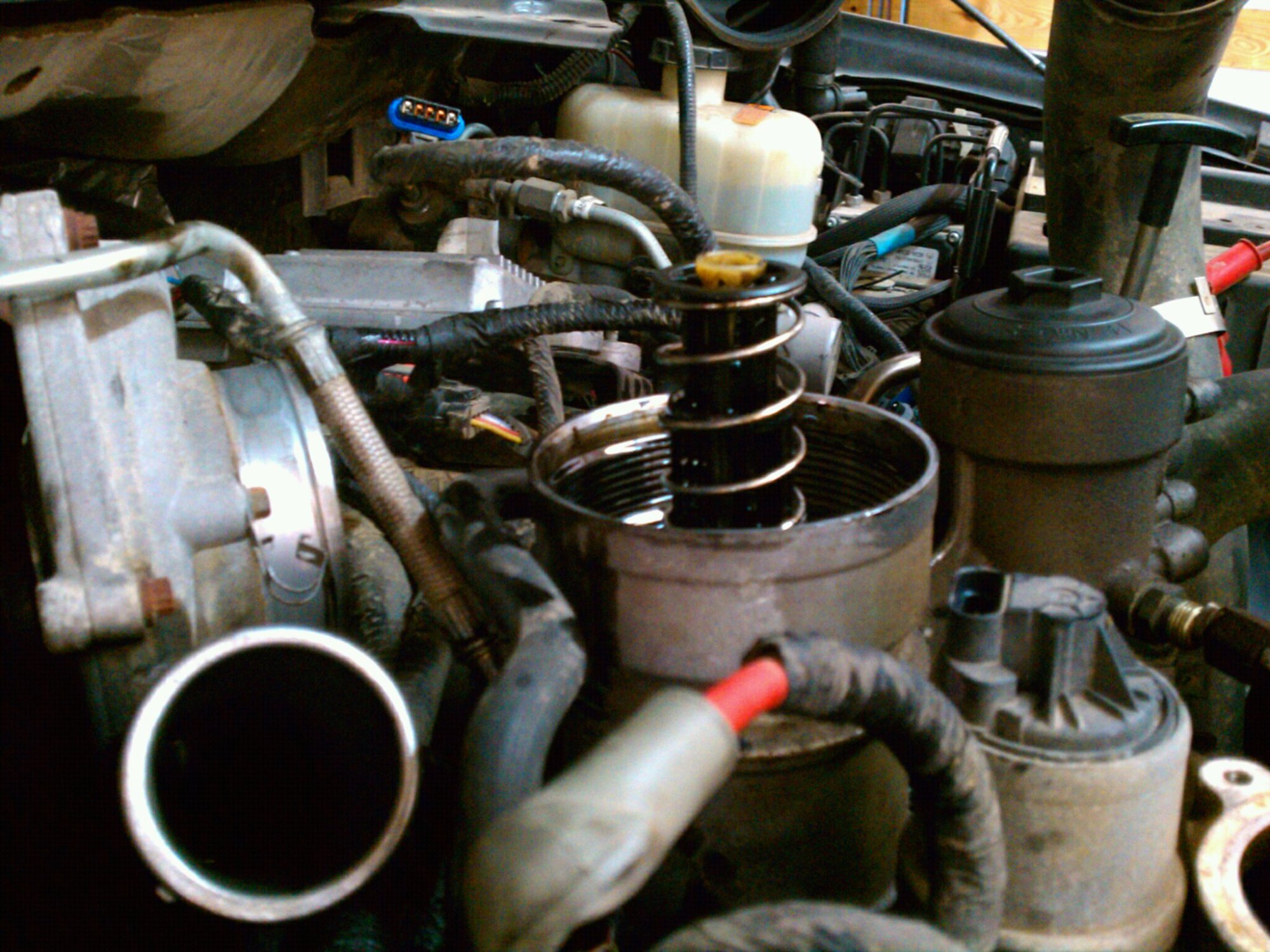 hight resolution of 6 0 powerstroke fuel filter change
