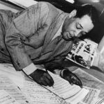 Duke Ellington Writing on Music Scores