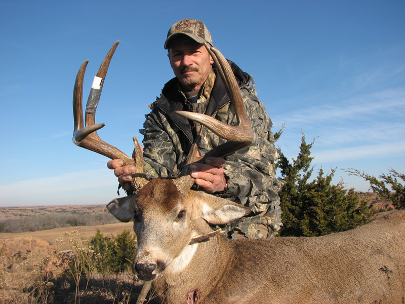 Kansas Whitetail Deer Hunting  Busters Outfitters