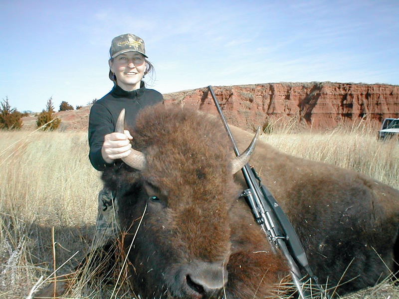 Kansas Buffalo Hunting  Rifle and Archery  Busters