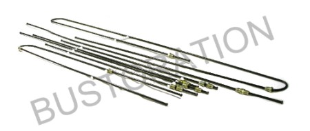 Brake Line Kit, Metal, 64-66 Bus