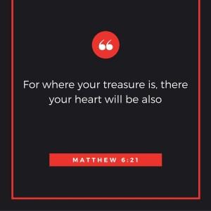 Matthew 6-21