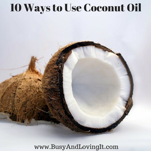 Ten things you can do with coconut oil. I love the sugar scrub!