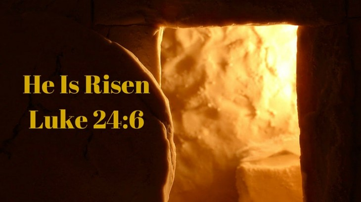 He Is Risen! Why do you look for the living among the dead?