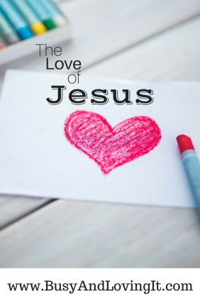 How much do you understand the love of Jesus?