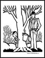 General Winter Coloring Pages