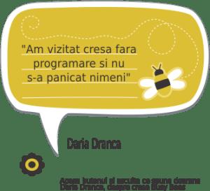 testimonial Daria Dranca