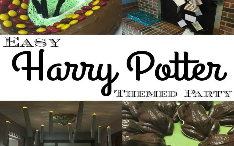 Easy Harry Potter Themed Party