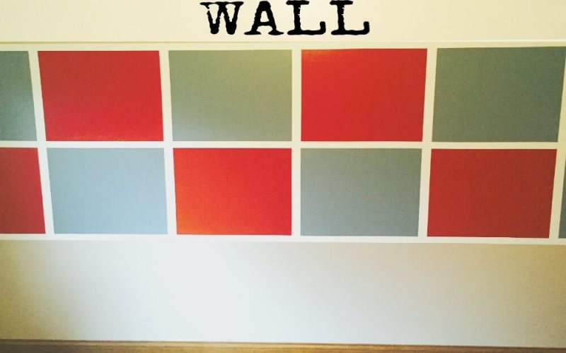 How to Paint a Checkerboard Wall
