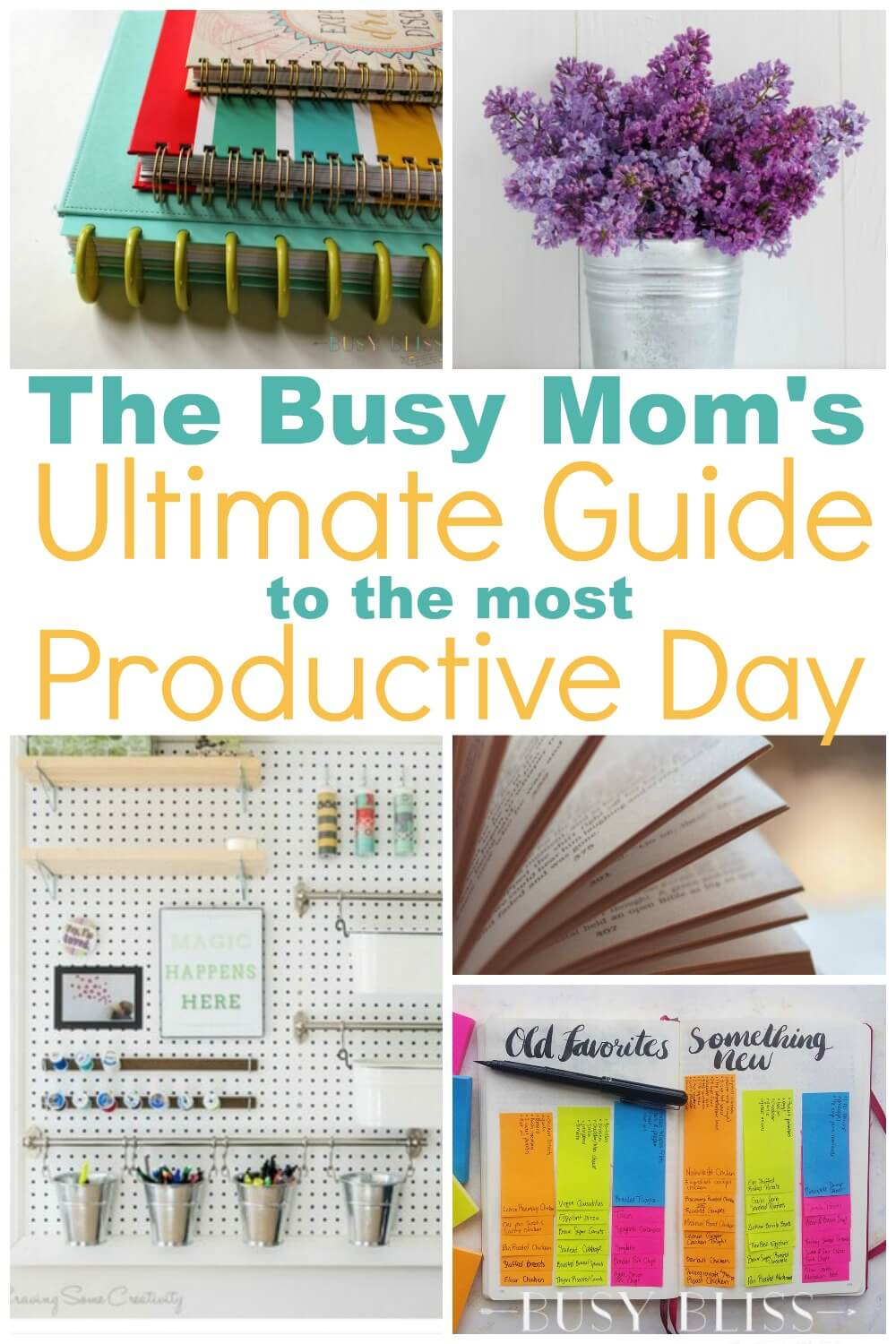 The Busy Mom\'s Ultimate Guide to the Most Productive Day - Busy Bliss