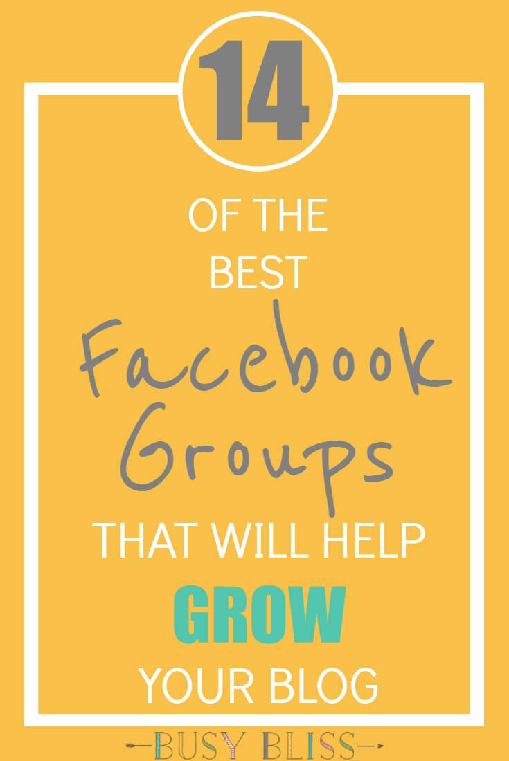 Are you a part of the blogger community? Grow your blog with these 14 awesome Facebook groups for support, promotion, and blog strategy.