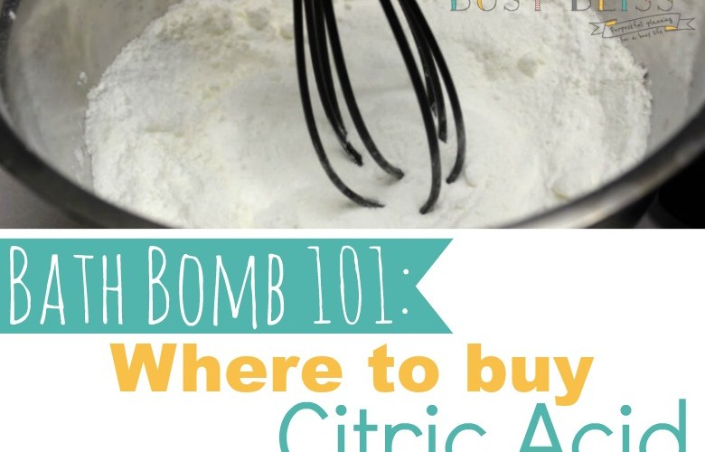 Where to Buy Citric Acid for Bath Bombs-What You Need to Know