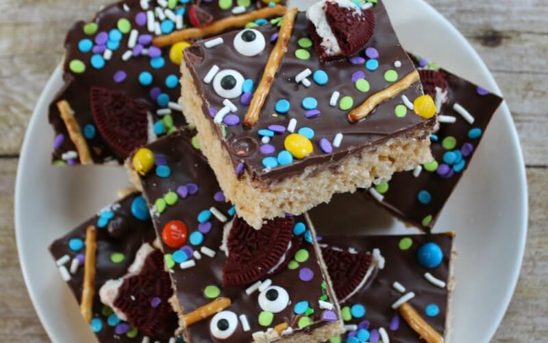 Warning: Halloween Rice Krispie Treats Will Make You Scream (with delight)
