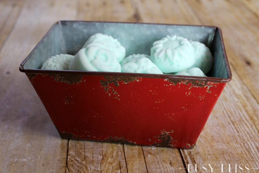 Skip the Vicks and try homemade eucalyptus shower melts for colds instead! This tutorial shows you how to make easy aromatherapy melts with essential oils and baking soda.