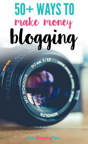 Looking for new ways to make money blogging? Here are over 50.