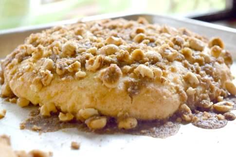 Vanilla hazelnut scones