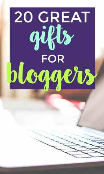 Looking for great gifts for bloggers?