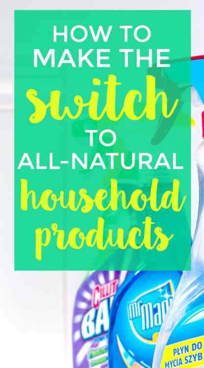 Natural household products