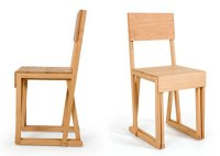 Wood chair and stool - Furniture