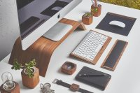 Re-Style Your Workspace W/ This Designer Desk Collection