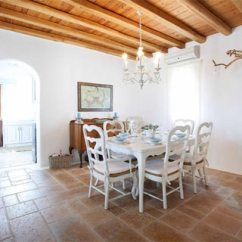French Country Kitchen Chairs Industrial Islands Dreams Of Greece: A Seaside Home - Beautiful Interiors ...