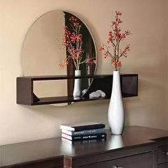Living Room Side Table Decoration Ideas Warm Paint Colors For Tate Mirror With Shelf: The Prettiest Of Them All - Art ...