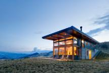 Modern House Canyon Cabin Pic