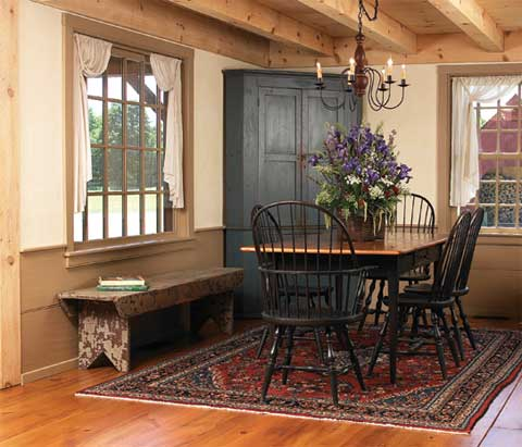 handmade rocking chairs tables tents and chair rental early new england homes: charmingly authentic - modern architecture