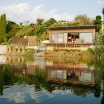 Lake House In Graz Clear Intentions - Modern Cabins