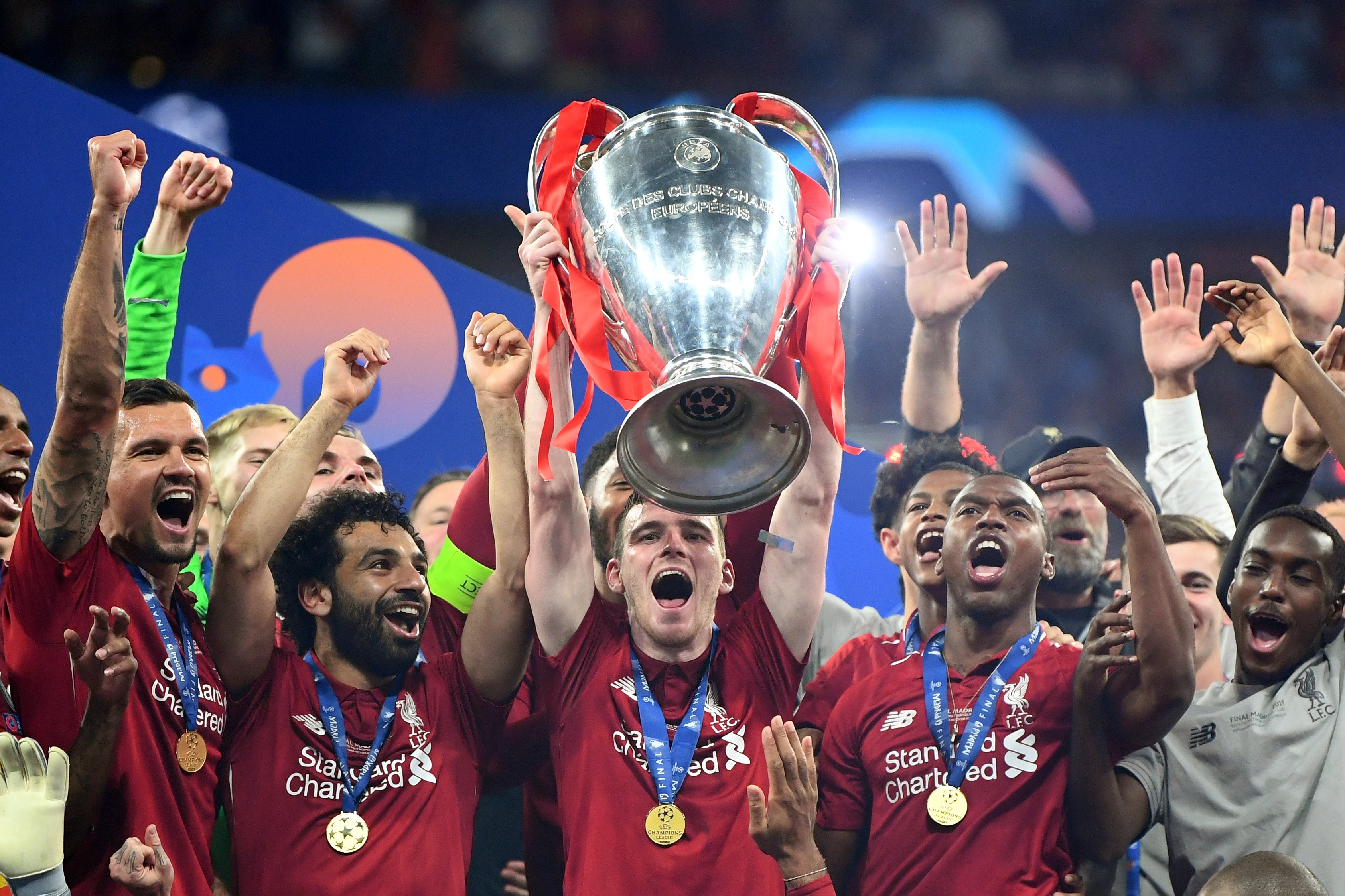 Ucl Final Liverpool Beat Spurs To Win Sixth Champions League Trophy