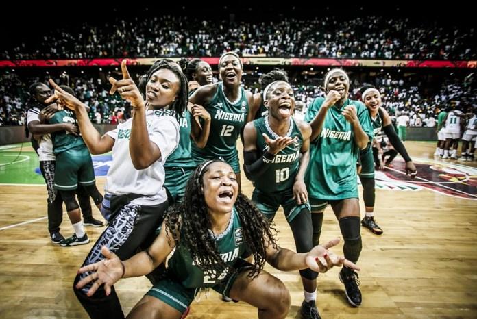 D'Tigress Celebrate 2019 Afrobasket Win