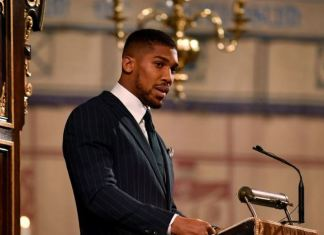 Anthony-Joshua-CommonWealth-Speech-Egusi-And-Pounded-Yam-BusybuddiesNG