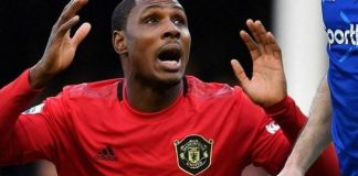Odion Ighalo Shocked
