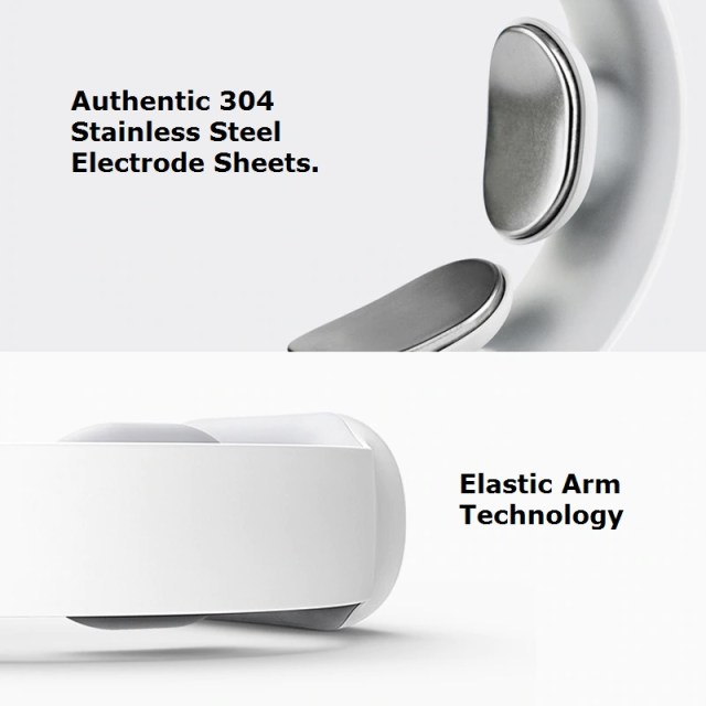 Smart Portable Neck And Shoulder Massager - 304 stainless and elastic technology