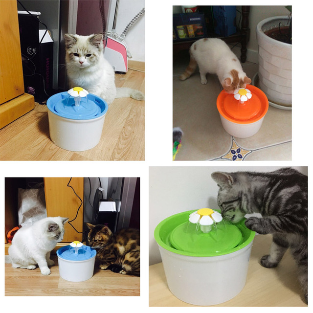 Purified Cat Pet Water Drinking Fountain - From Our Regular Customers