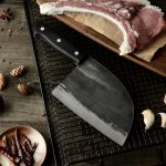 Handmade Butcher Serbian Chefs Knife With Set - Easy to use design