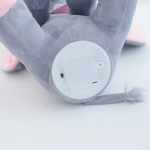 Singing Peek a Boo Elephant Plush Doll Under Close Up