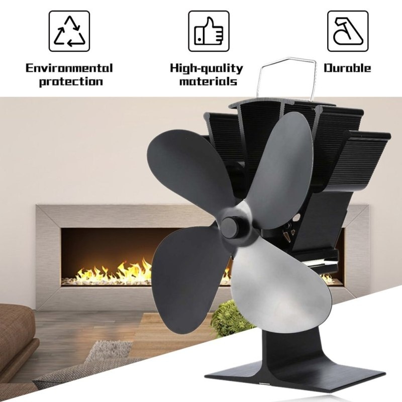 Heat Powered Wood Stove Fan Basic Features