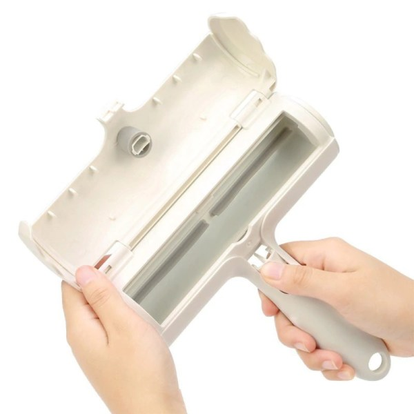 Pet Hair Remover Roller Brush - Back Compartment