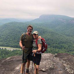John Rock Pisgah National Forest Hike